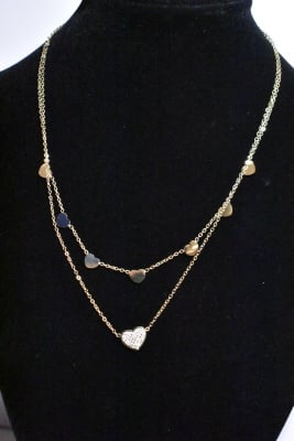 Collier Coeur Or Cde36