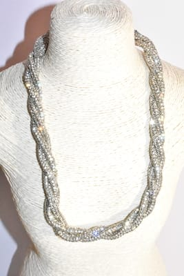 Collier Strass  CE139